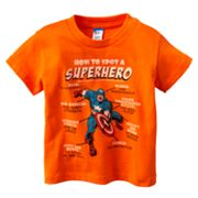 Captain America Superhero Tee - Toddler