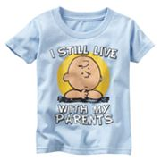 Peanuts I Still Live With My Parents Tee - Toddler