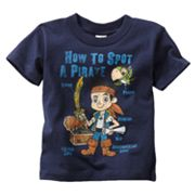 Disney Jake and the Never Land Pirates Pirate Spotting Tee - Toddler