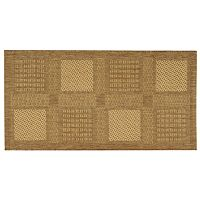 Safavieh Courtyard Square Indoor Outdoor Patio Rug - 2'7