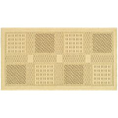 Safavieh Courtyard Square Indoor Outdoor Patio Rug - 2'7' x 5'