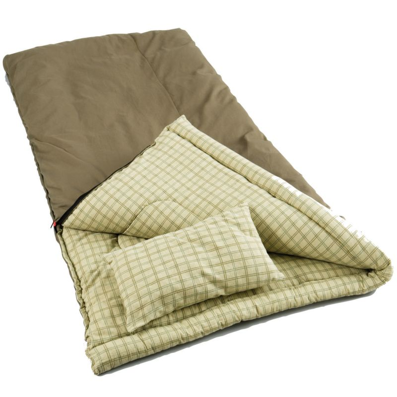 Coleman Big Game Sleeping Bag, Brown