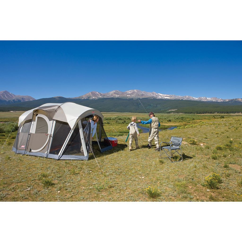 Coleman WeatherMaster Screened 6-Person Camping Tent
