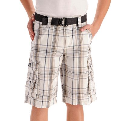 Lee Wyoming Plaid Cargo Shorts - Boys 8-20