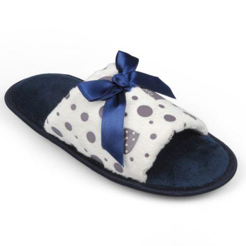 Journee Collection Heart Slippers - Women