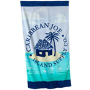 Caribbean Joe Beach Island Medley Beach Towel