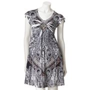 Apt. 9 Embellished Sublimation Dress - Petite