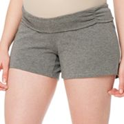 Oh Baby by Motherhood Underbelly Yoga Shorts - Maternity