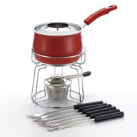 Rachael Ray 11-pc. Stainless Steel Fondue Set