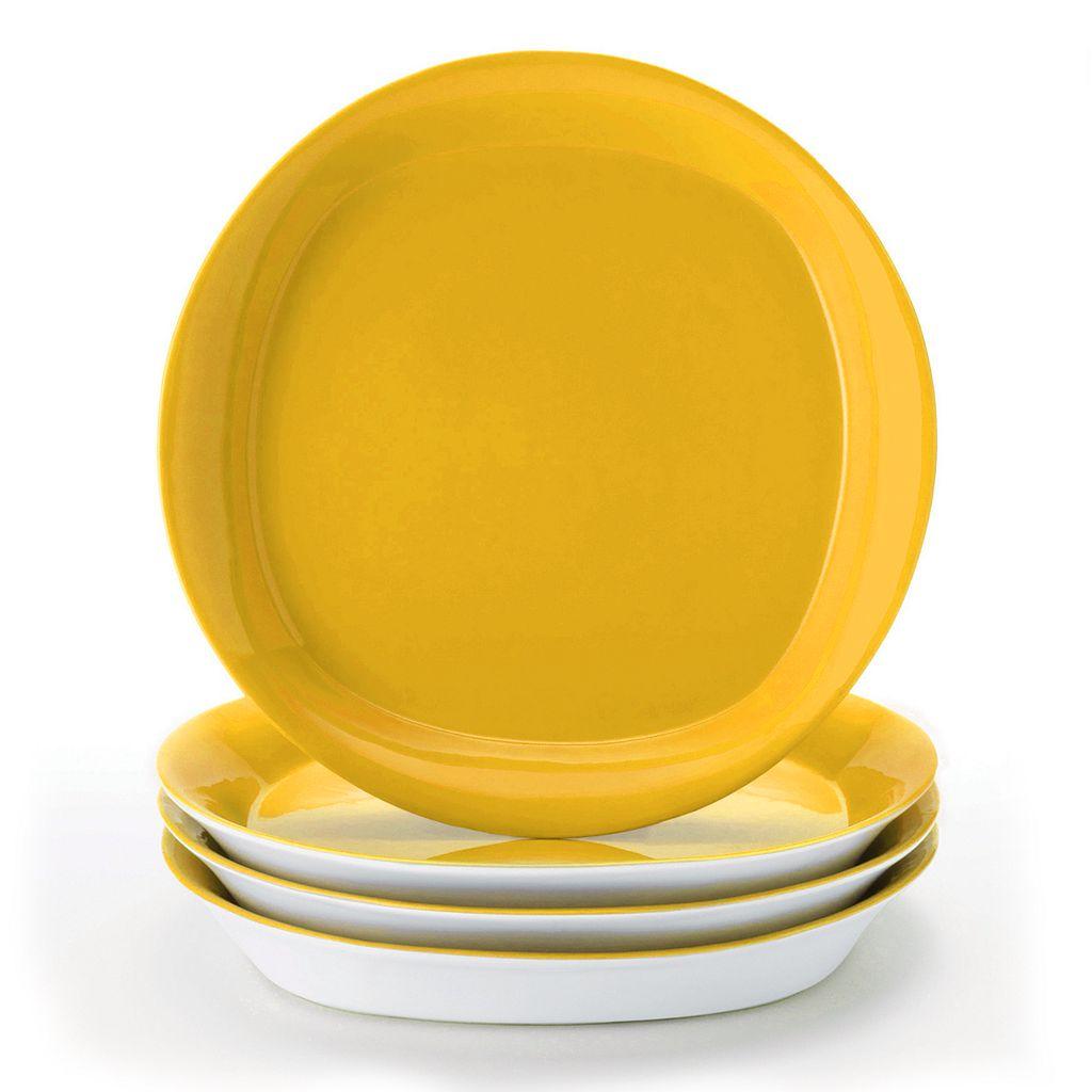 Rachael Ray Round & Square 4-pc. Salad Plate Set