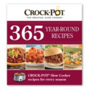 """Crock-Pot 365 Year-Round Recipes"" Cookbook"