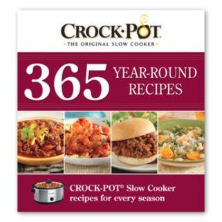 Crock-Pot 365 Year-Round Recipes Cookbook