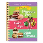 3 in 1: Whoopie Pies, Cake Pops and Mini Treats Cookbook