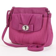 ELLE Simone Quilted Bow Shoulder Bag