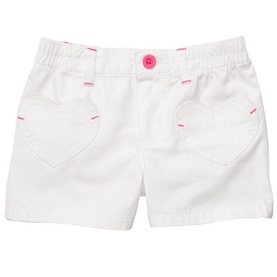 Carter's Solid Shorts - Girls 4-6x