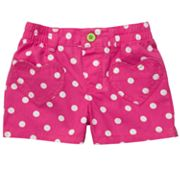 Carter's Polka-Dot Shorts - Girls 4-6x