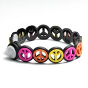 SO Peace Sign Bracelet