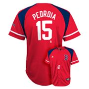 adidas Boston Red Sox Dustin Pedroia Jersey - Boys 8-20