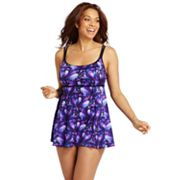 Croft and Barrow Fit for You Hip Minimizer Swimdress - Women's Plus