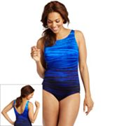 Croft and Barrow Fit for You Tummy Slimmer One-Piece Swimsuit - Women's Plus