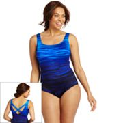 Croft and Barrow Fit for You Long Torso One-Piece Swimsuit - Women's Plus