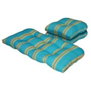 Cabana Stripe Outdoor 3-pc. Patio Furniture Pad Set
