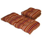 Hombre Stripe Outdoor 3-pc. Patio Furniture Pad Set