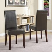 Simpli Home Acadian 2-pc. Parson Chair Set