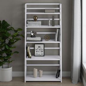 Simpli Home Acadian Ladder Shelf