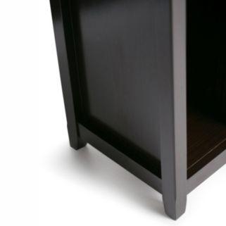 Simpli Home Amherst Crazy Cube Storage Shelf