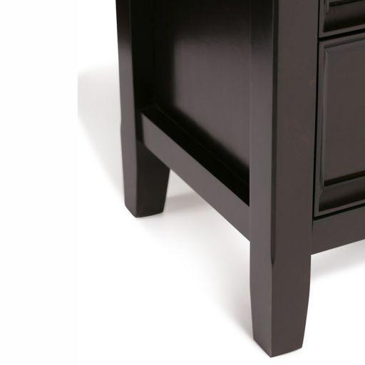 Simpli Home Amherst Storage Cabinet