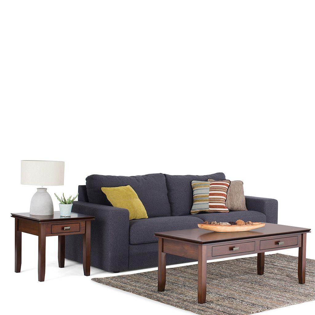 Simpli Home Artisan Coffee Table