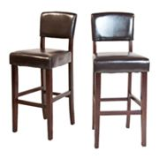 Simpli Home Avalon 2-pc. Bar Stool Set
