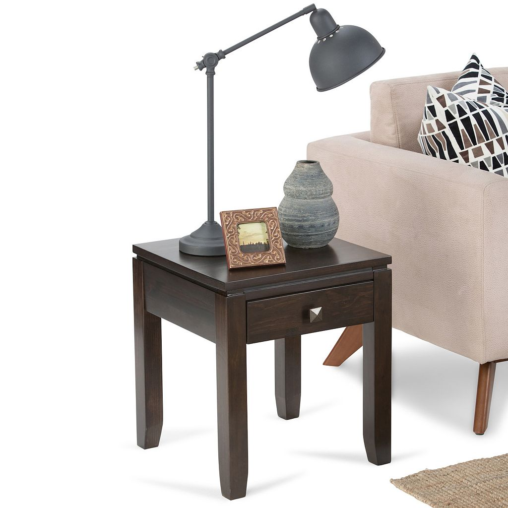 Simpli Home Cosmopolitan End Table