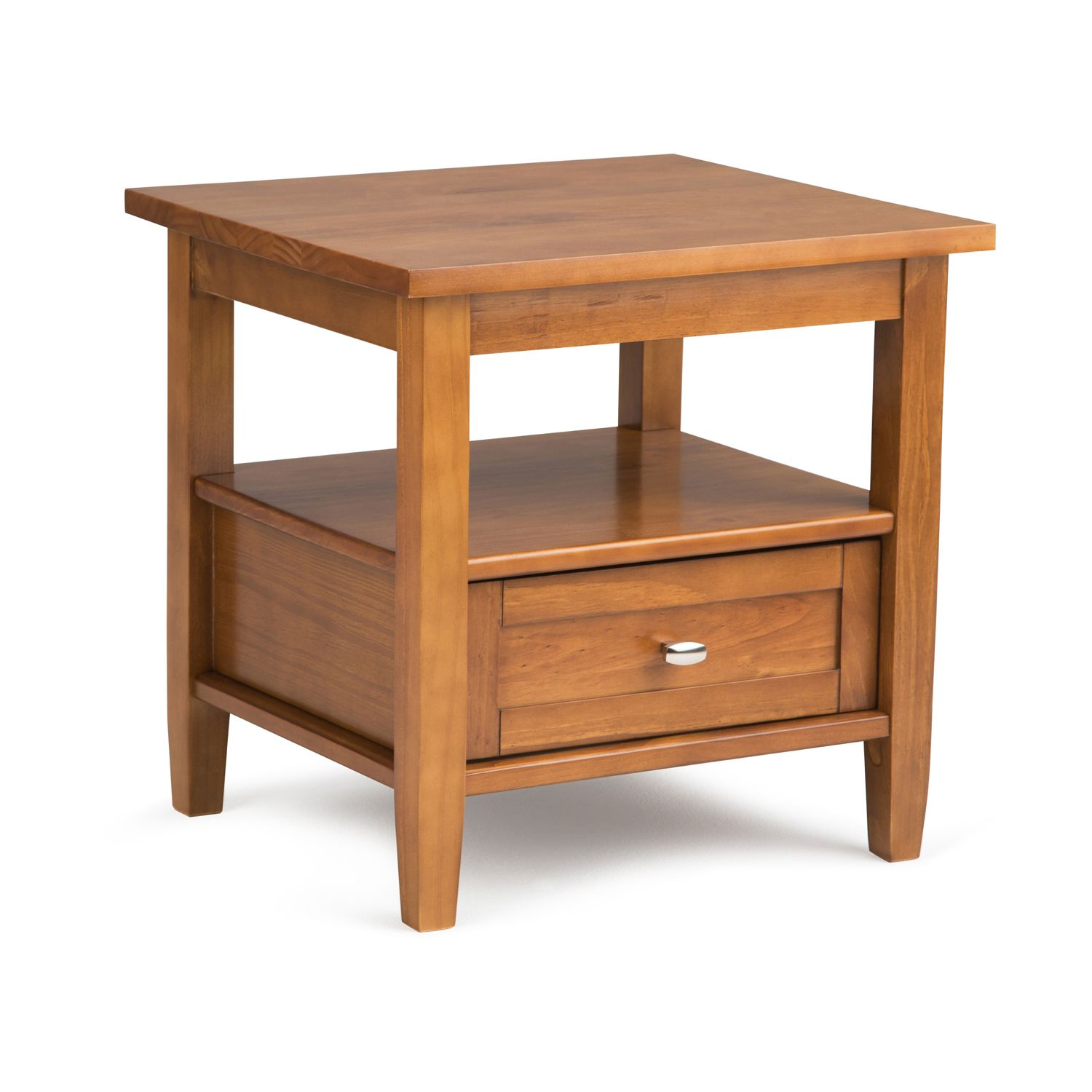 Attrayant Simpli Home Warm Shaker End Table