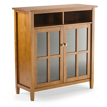 Simpli Home Warm Shaker Storage & Entertainment Cabinet