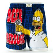 The Simpsons Beer Pressure Homer Boxers