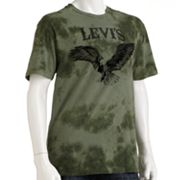 Levi's In Circles Graphic Tie-Dye Tee - Men