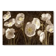 Baroque Poppies Canvas Wall Art by Ives McColl