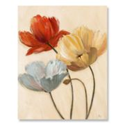 Poppy Palette I Canvas Wall Art by Nan