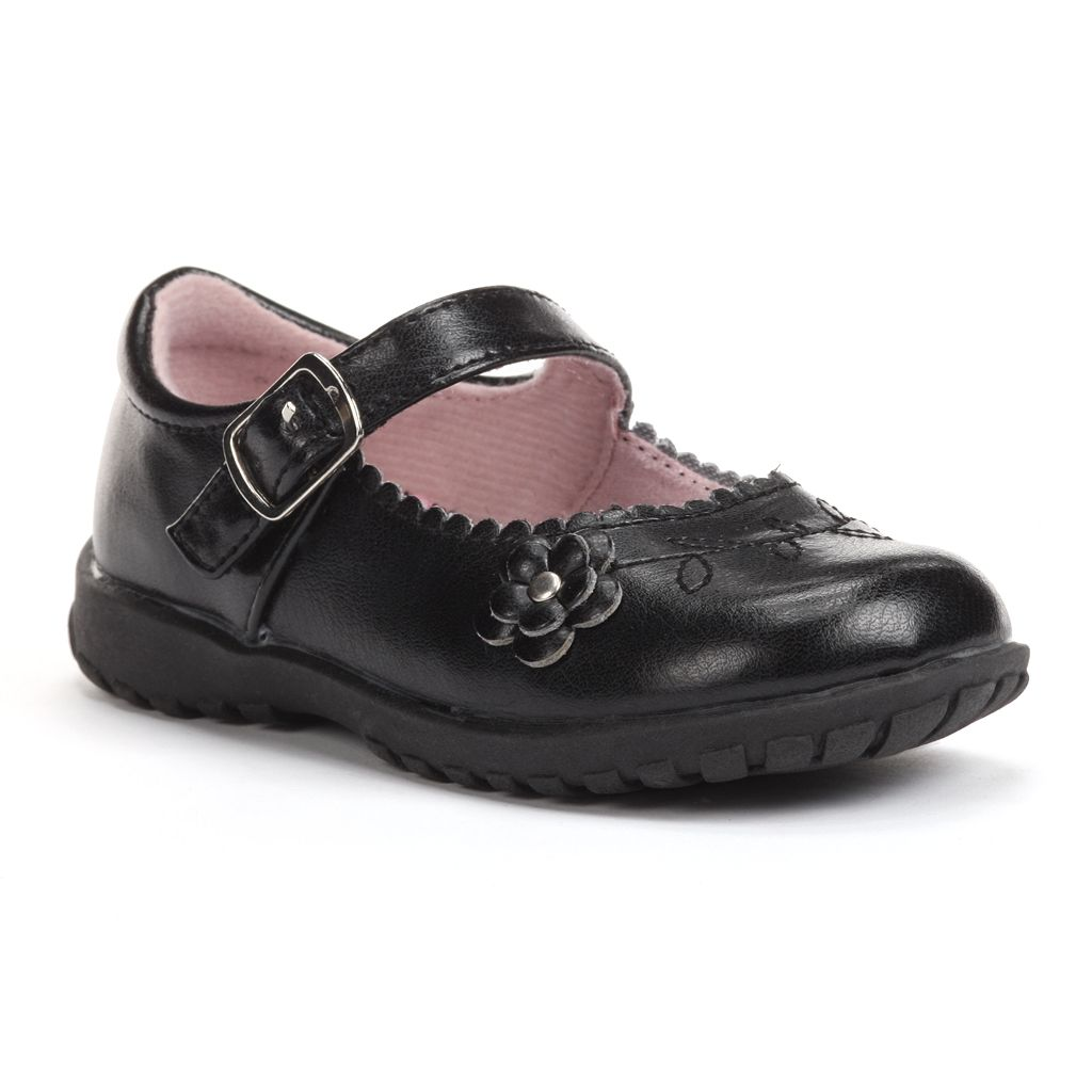 French Toast Allison Toddler Girls' Uniform Mary Janes