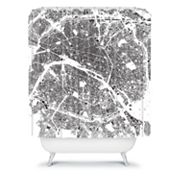 DENY Designs CityFabric Inc. Paris Shower Curtain