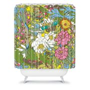 DENY Designs Geronimo Studio Butterflies Shower Curtain
