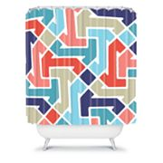 DENY Designs Jacqueline Maldonado Azimuth 4 Shower Curtain