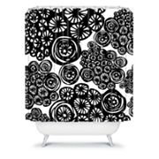 DENY Designs Julia Da Rocha Circo Doodles Shower Curtain