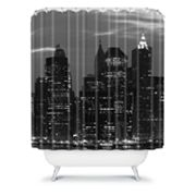 DENY Designs Leonidas Oxby New York Financial District Shower Curtain