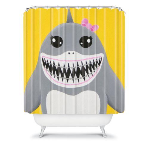 DENY Designs Mandy Hazell Shark Tooth Sally Fabric