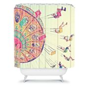 DENY Designs Shannon Clark Dizzying Heights Shower Curtain