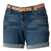 Apt. 9 Cuffed Denim Shorts