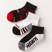 Tony Hawk 3-pk. Striped Crew Socks - Boys